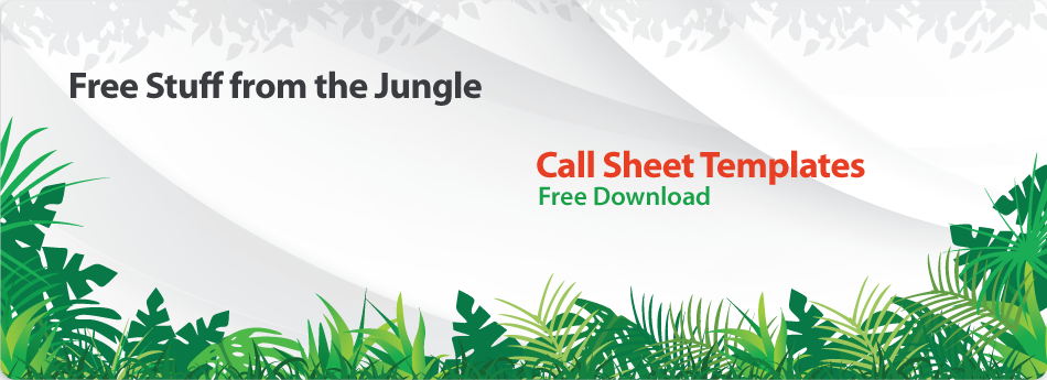 Free Call Sheet Template