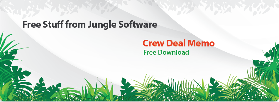 Free Crew Deal Memo for Film