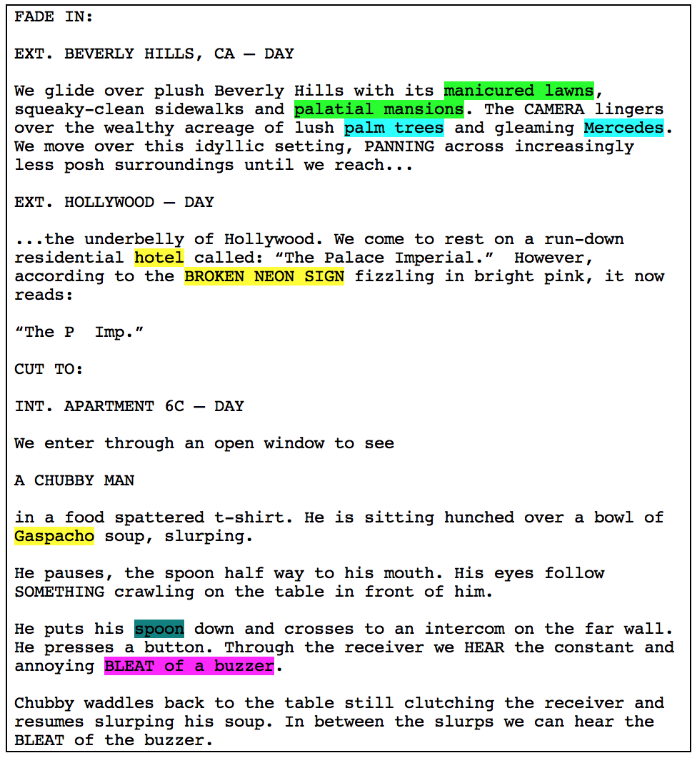Breaking Down Your Screenplay
