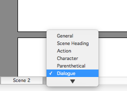 Dialogue for Character